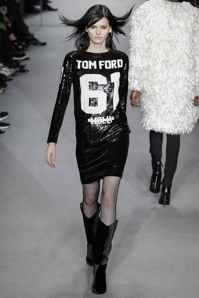 tom ford fall winter 2014 show20 Top 5 Fall/Winter 2014 Trends From Paris, London, New York & Milan