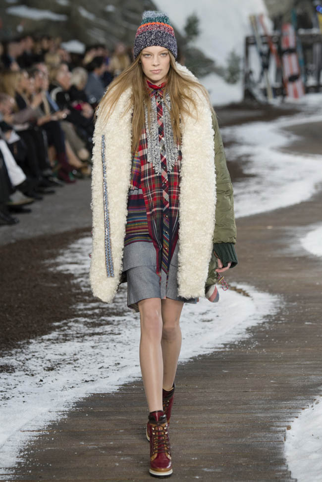 tommy hilfiger fall winter 2014 show1 Tommy Hilfiger Fall/Winter 2014 | New York Fashion Week