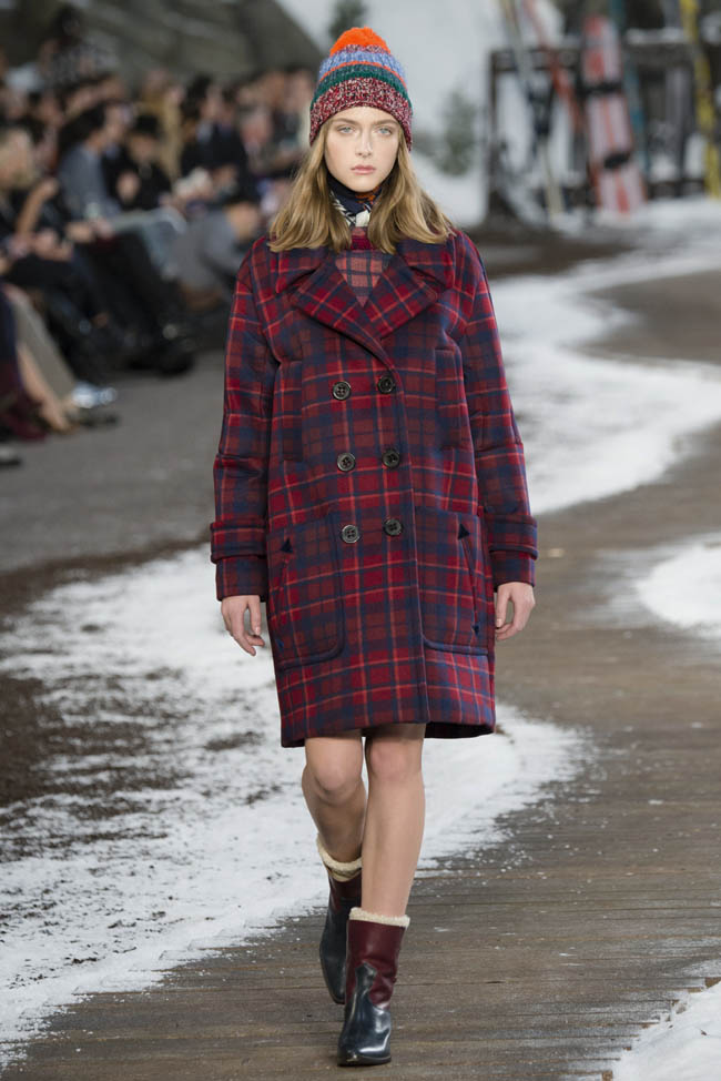 tommy hilfiger fall winter 2014 show29 Top 5 Fall/Winter 2014 Trends From Paris, London, New York & Milan