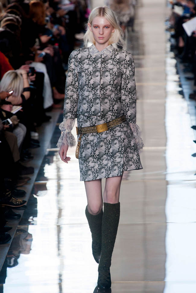 tory burch fall winter 2014 show1 Tory Burch Fall/Winter 2014 | New York Fashion Week