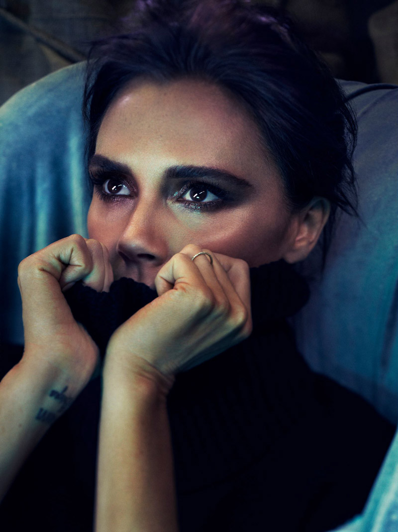 victoria beckham allure shoot4 Victoria Beckham Covers Allure, Says She Was Bullied in School