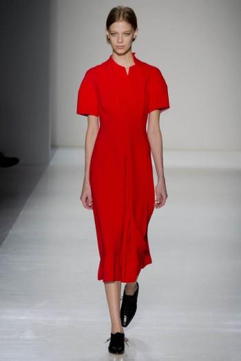 Victoria Beckham Fall/Winter 2014 | New York Fashion Week