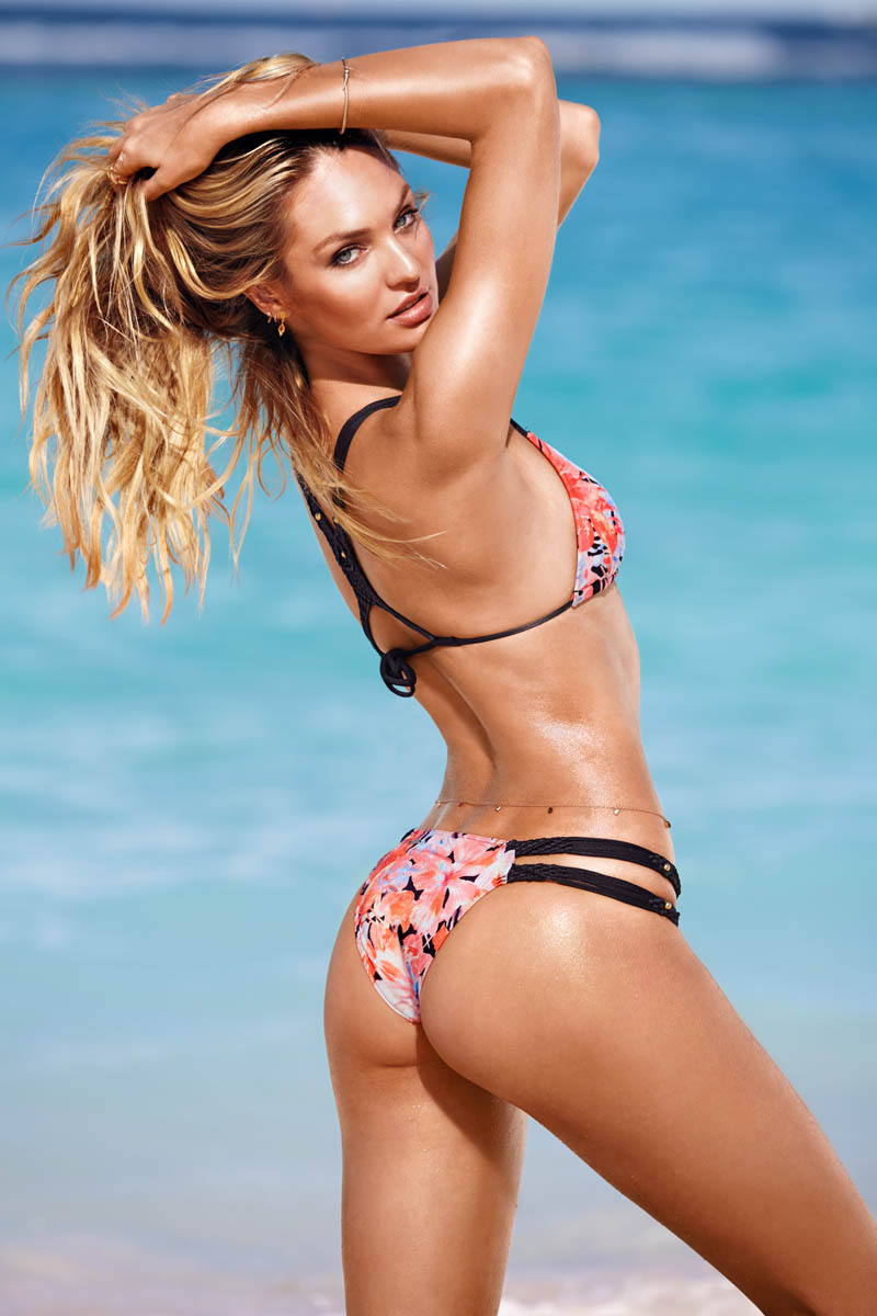 victorias secret swim 201412 Candice Swanepoel Leads the Pack for Victorias  Secret Swim in St. Barths