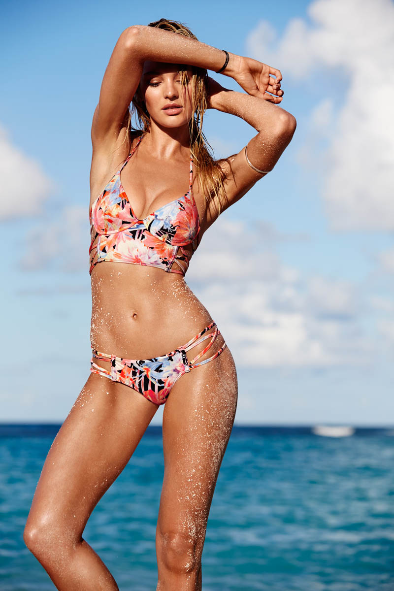 victorias secret swim 20148 Candice Swanepoel Leads the Pack for Victorias  Secret Swim in St. Barths