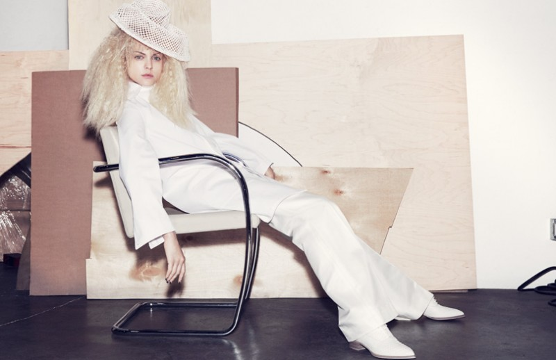 Viktoriya Sasonkina Gets Radical for Elle UK by Marcus Ohlsson
