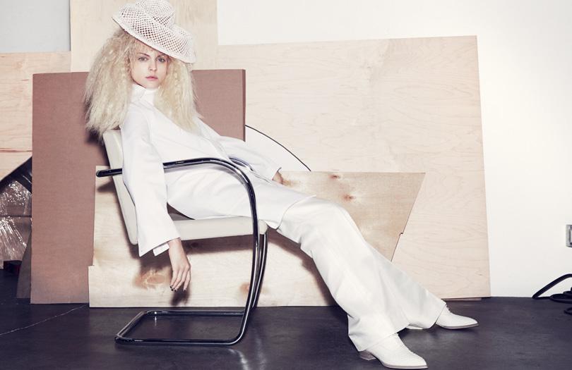 Viktoriya Sasonkina Gets Radical for Elle UK by Marcus Ohlsson