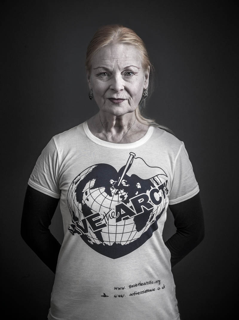 vivienne westwood Vivienne Westwood Enlists Georgia May, Jerry Hall + More for 'Save the Arctic' Campaign