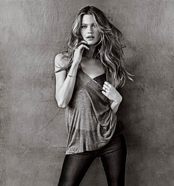Behati Prinsloo Models the T-Shirt Bra for Victoria's Secret