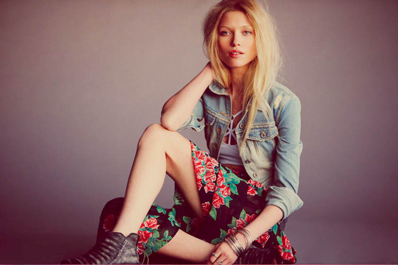 Flower Power: Hana Jirickova Gets Spring-y for New Free People Shoot