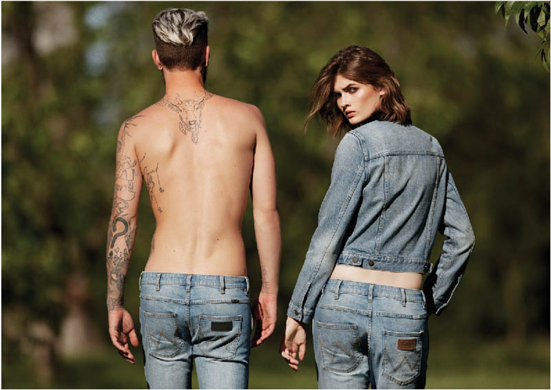 wrangler fall 2014 campaign5 Lara Mullen Goes Back to Nature for WRANGLERs Fall 2014 Campaign