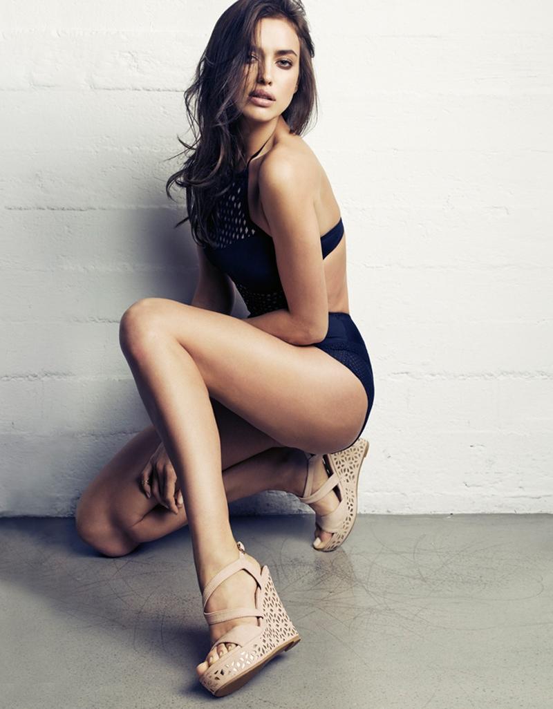 xti irina shayk spring 2014 18 Irina Shayk Sizzles in XTIs Spring 2014 Ads