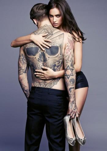Irina Shayk Sizzles in XTI's Spring 2014 Ads