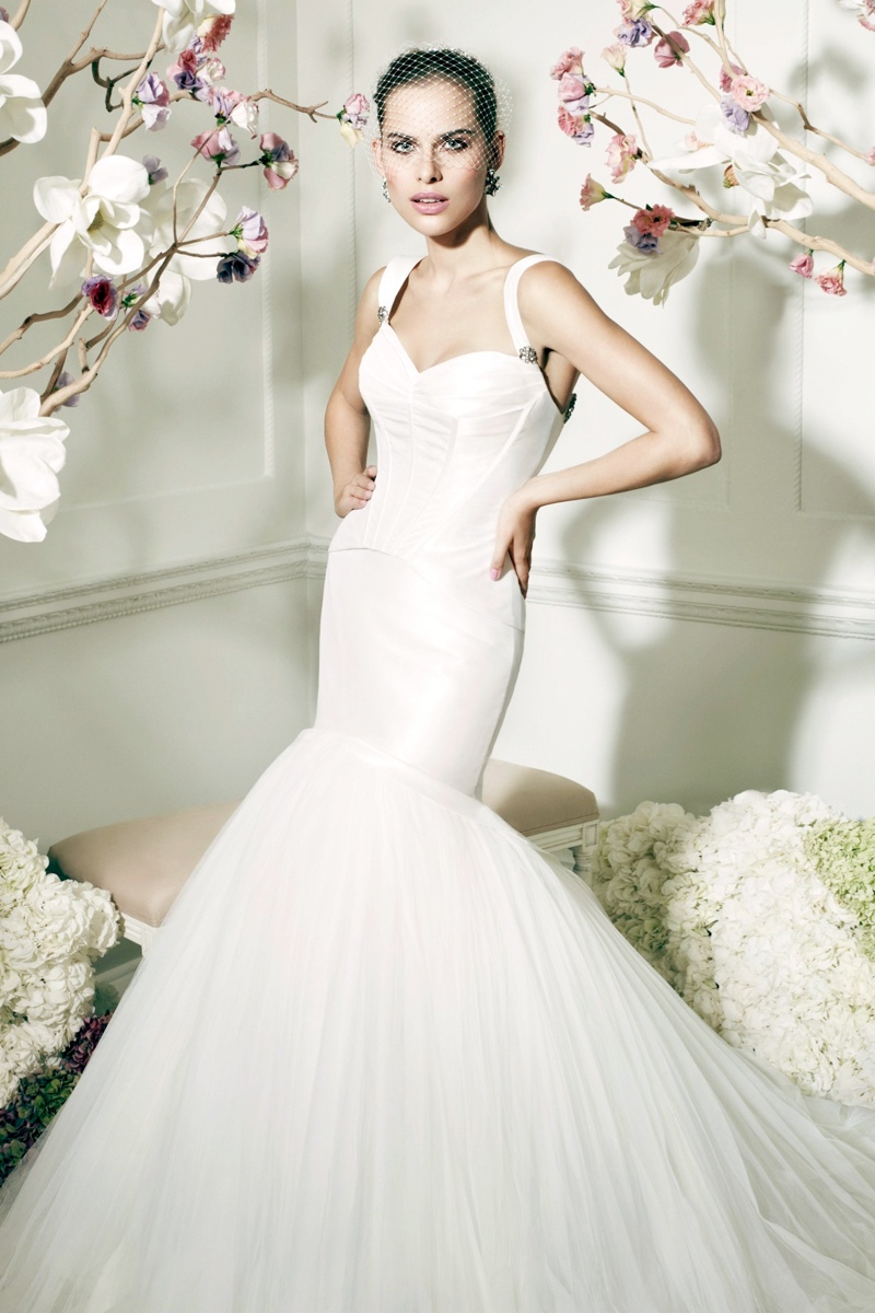 zac posen davids bridal collection2 Zac Posen Collaborates with Davids Bridal on Line of Wedding Apparel
