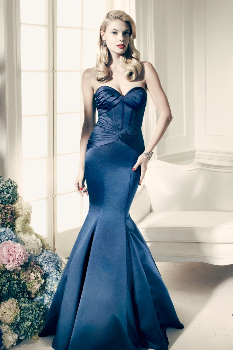 zac posen davids bridal collection4 Zac Posen Collaborates with Davids Bridal on Line of Wedding Apparel