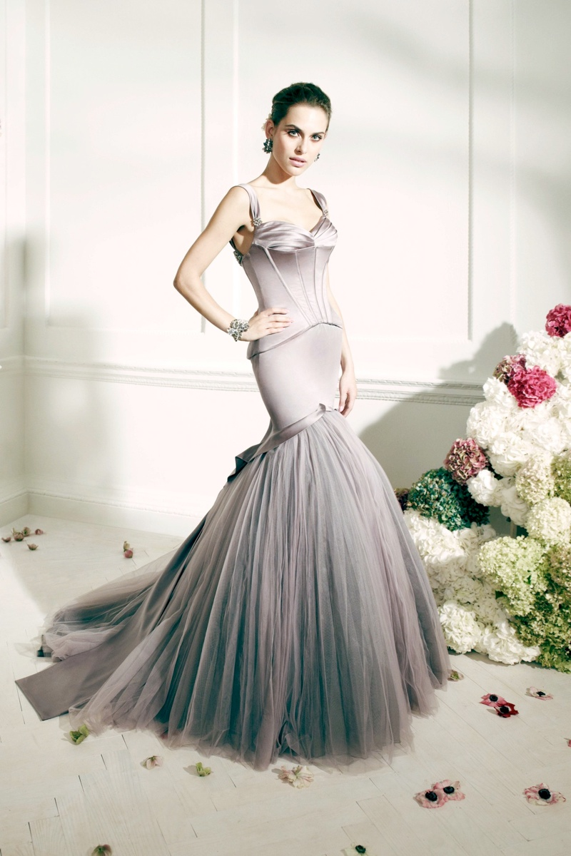 zac posen davids bridal collection6 Zac Posen Collaborates with Davids Bridal on Line of Wedding Apparel