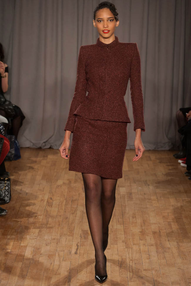 zac posen fall winter 2014 photos1 Zac Posen Fall/Winter 2014 | New York Fashion Week