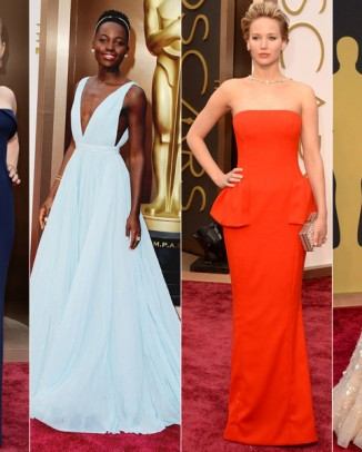 2014 oscars style roundup 326x406 H&M Debuts First Wedding Dress at Just $100