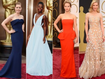 2014 Oscars Red Carpet Looks