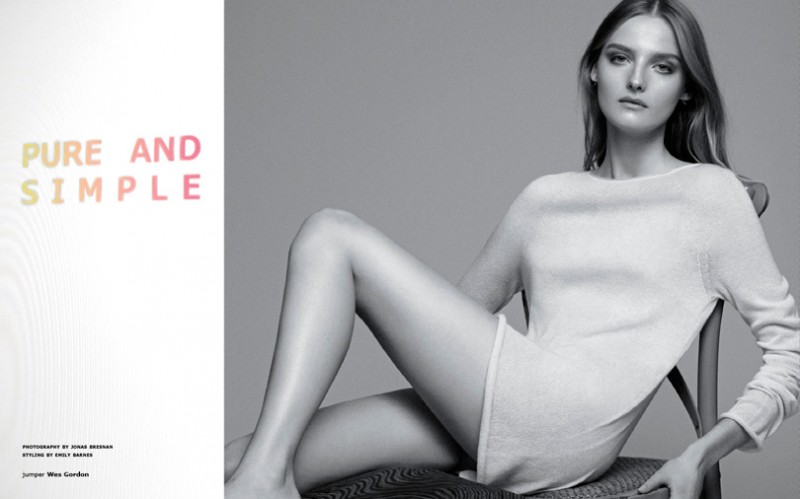 JB tank 9 800x499 Amanda Norgaard Keeps it Simple for Tank Magazine by Jonas Bresnan