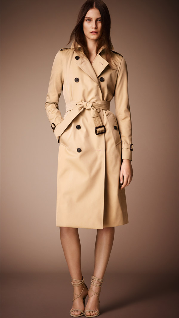 The Burberry Heritage Trench Coat Kensington Burberrys Heritage Trench Coat: Classic to Modern Style