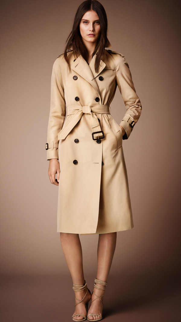 "Burberry Heritage Trench Coat ""The Westminster"" available at Burberry for $1,595.00"