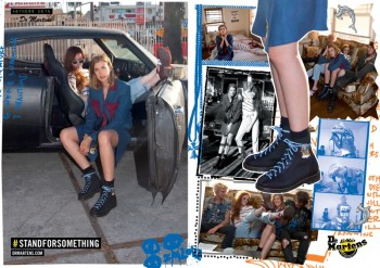 Agyness Deyn x Dr. Martens Gets Surfer Inspired for Spring '14 Line