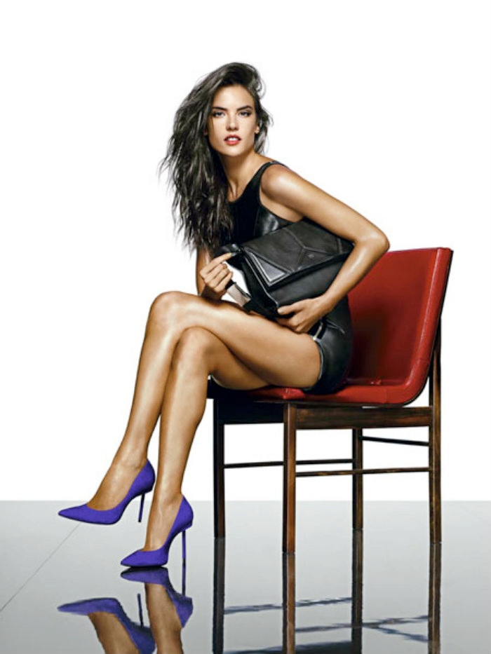 alessandra ambrosio schutz shoot11 Alessandra Ambrosio is a Shoe Vixen for Schutz Fall 2014 Campaign