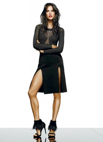 Alessandra Ambrosio is a Shoe Vixen for Schutz Fall 2014 Campaign