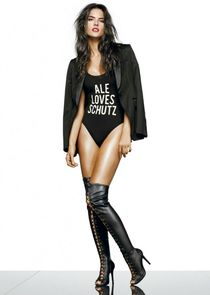 alessandra ambrosio schutz shoot8 Alessandra Ambrosio is a Shoe Vixen for Schutz Fall 2014 Campaign