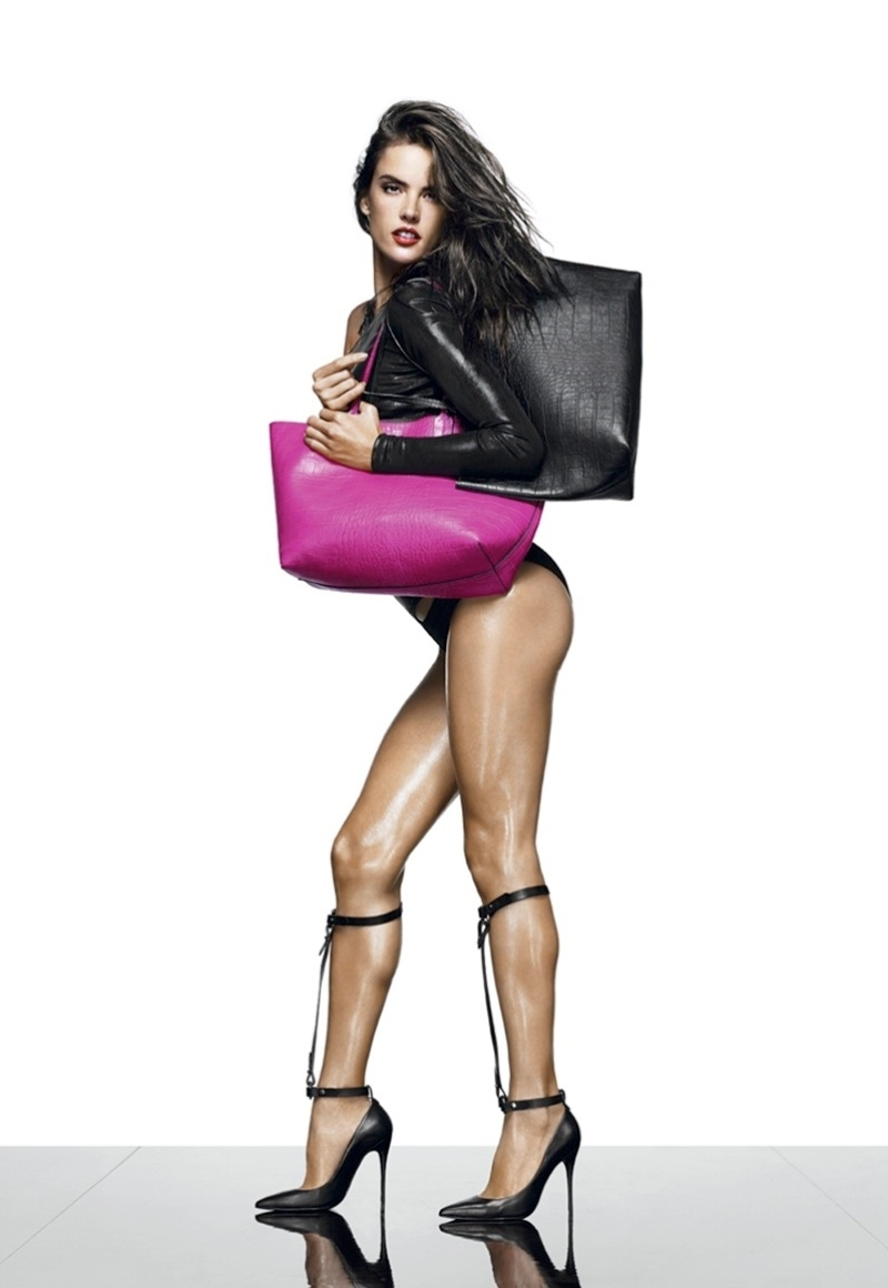 alessandra ambrosio schutz shoot9 Alessandra Ambrosio is a Shoe Vixen for Schutz Fall 2014 Campaign