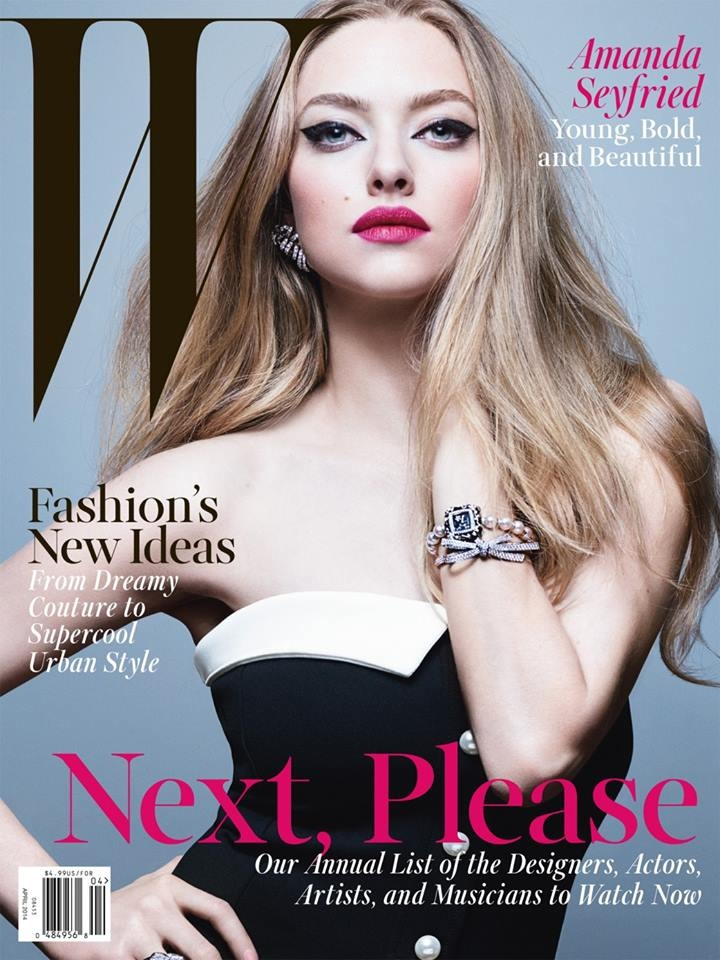 amanda seyfried 2014 5 Amanda Seyfried is a Sexy Cowgirl for W Magazine Cover Shoot