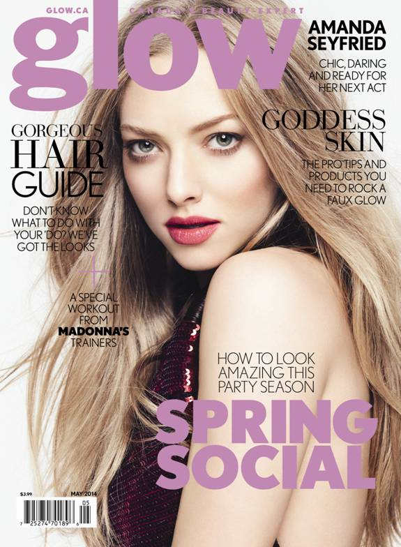 amanda seyfried glow1 Amanda Seyfried Covers Glow, Talks Being a Givenchy Girl