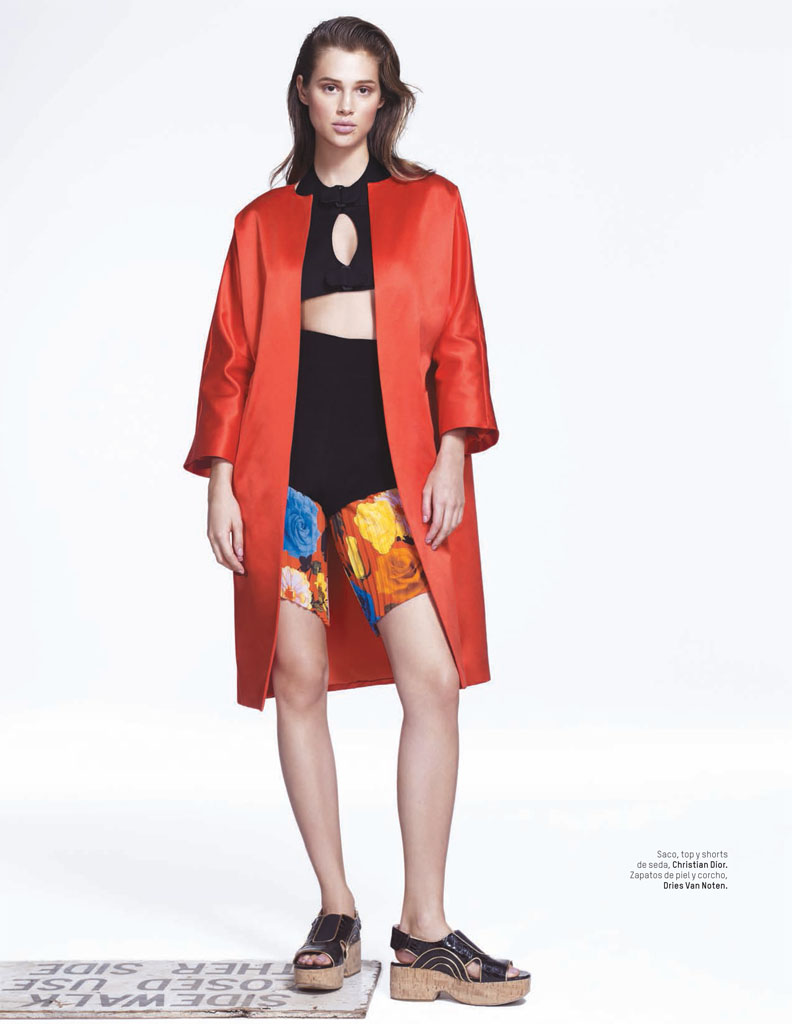 anais lofficiel mexico2 Anais Pouliot Stars in Debut Issue of LOfficiel Mexico by Andrew Yee