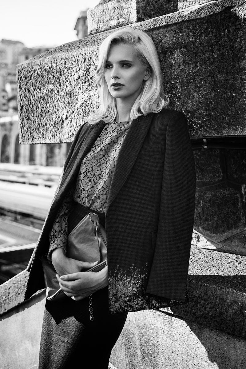 Tereza Wears Ladylike Looks for Quality Magazine by Andrea D'Aquino