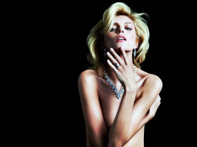anja rubik apart diamond jewelry4 800x599 Anja Rubik Shines in the Apart Diamond Spring 2014 Campaign