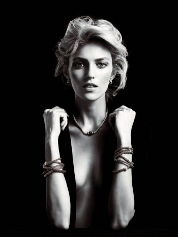 Anja Rubik Shines in the Apart Diamond Spring 2014 Campaign