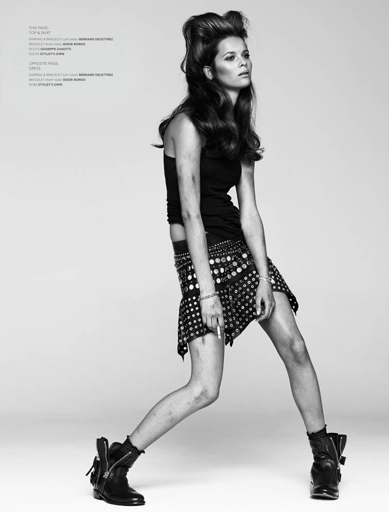 anouk de heer2 Urban Cowgirl: Anouk de Heer Rocks Diesel for Naomi Yang in Commons & Sense
