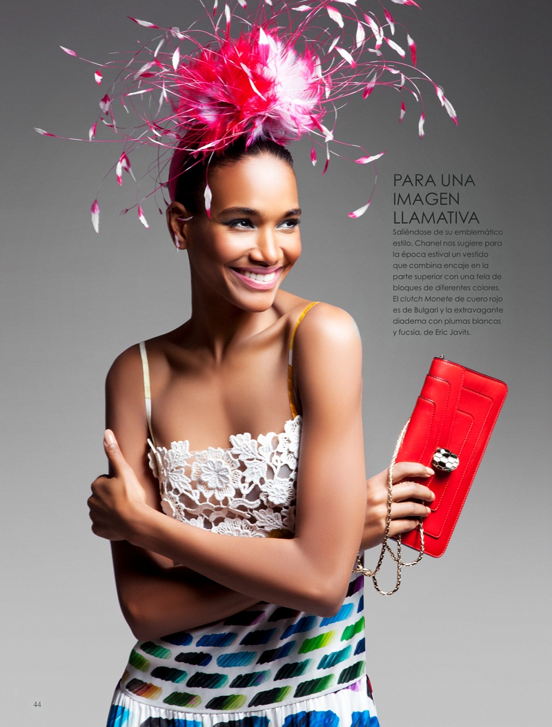arlenis sosa pena model3 Arlenis Sosa is Red Hot in Vanidades Shoot by Enrique Vega