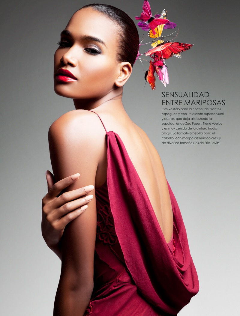 arlenis sosa pena model8 Arlenis Sosa is Red Hot in Vanidades Shoot by Enrique Vega