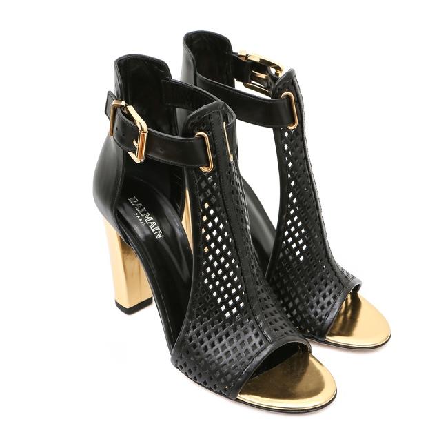 Shoe Spotting: Balmain's Spring 2014 Footwear Line