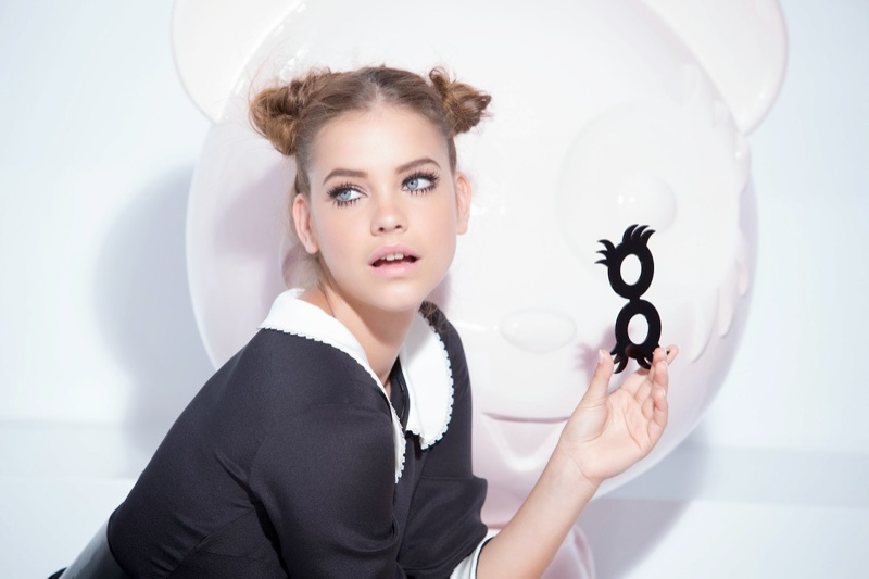 barbara palvin loreal bts8 Miss Manga: Barbara Palvin Turns on the Lash Factor for LOreal Paris