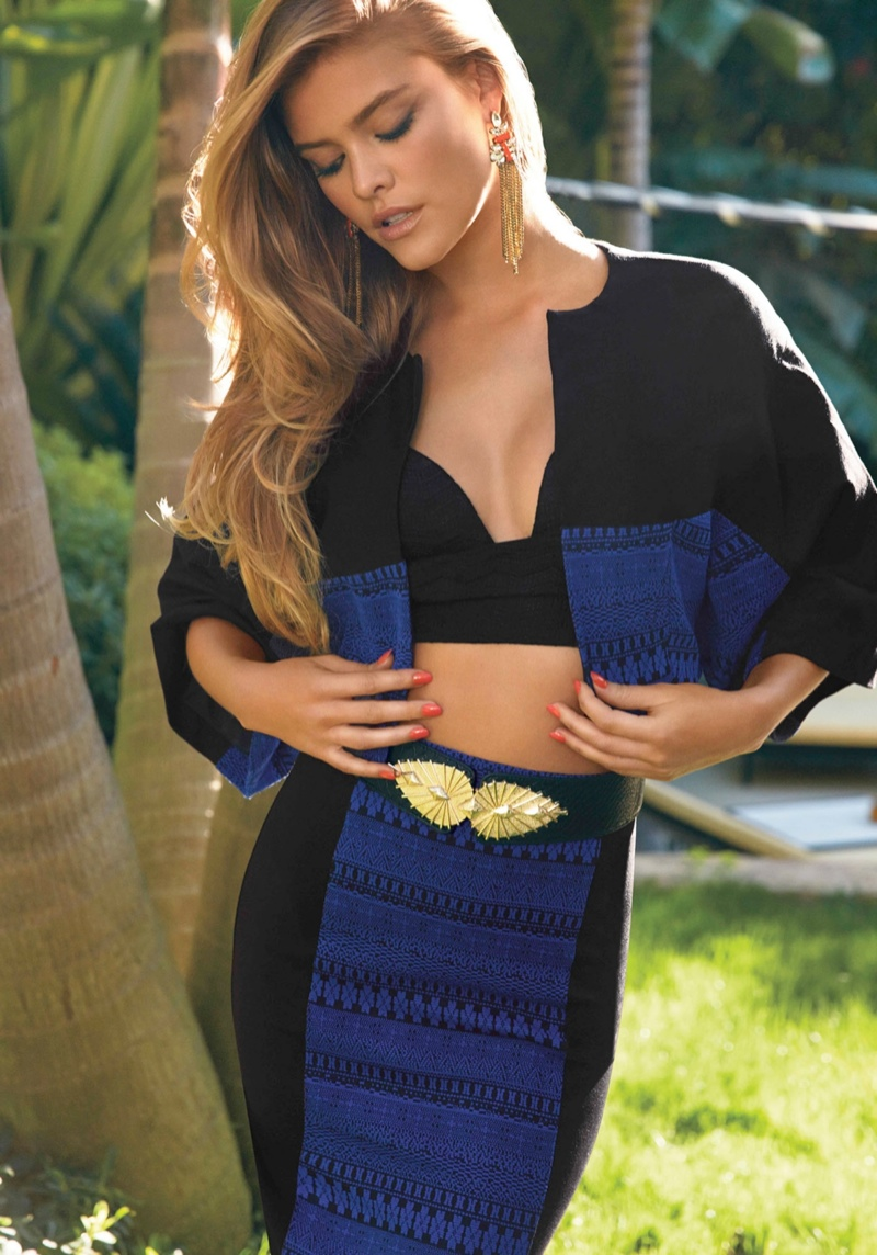bebe destination miami18 Nina Agdal + Sara Sampaio Bring the Miami Heat in Bebe Spring 14 Shoot