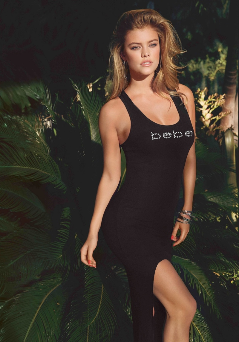 bebe destination miami21 Nina Agdal + Sara Sampaio Bring the Miami Heat in Bebe Spring 14 Shoot