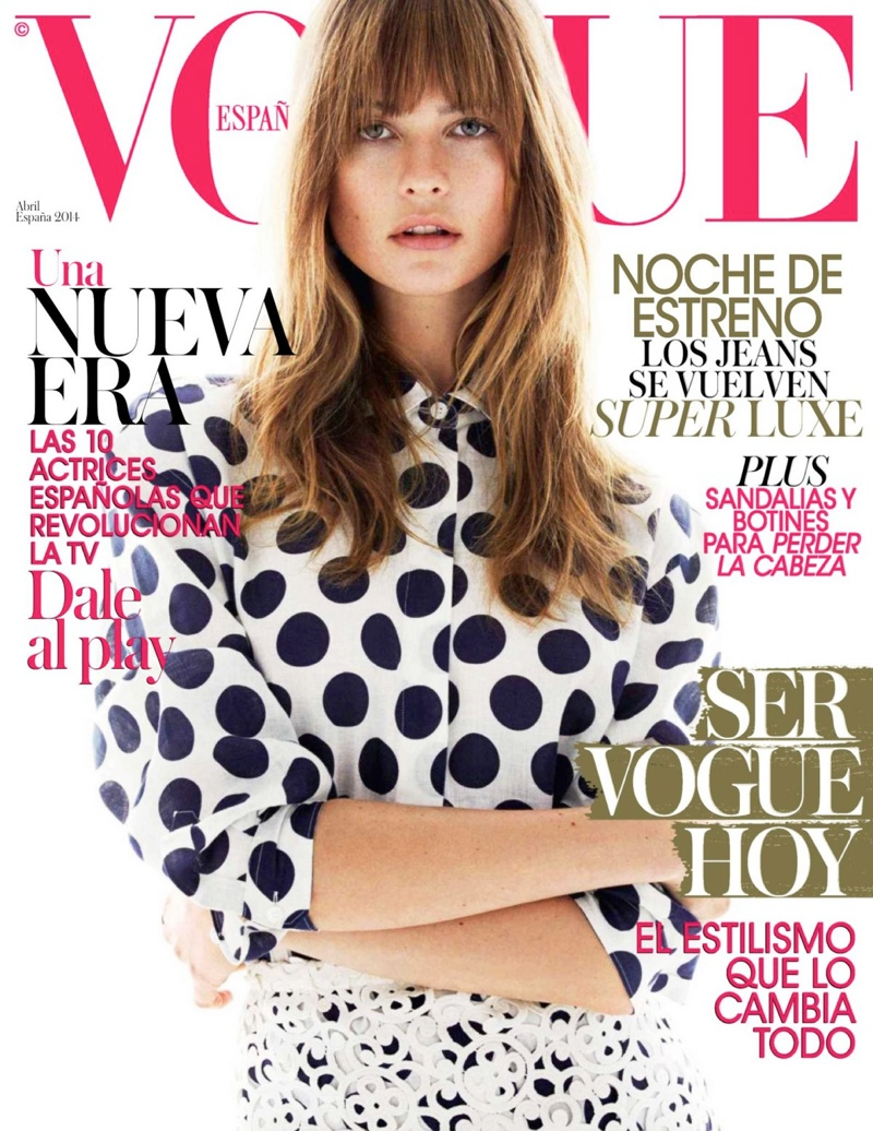 behati prinsloo vogue cover Behati Prinsloo at the Beach for Vogue Spain Spread by Greg Kadel