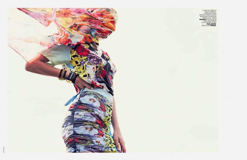 bregje nagi sakai2 Bregje Heinen Mixes & Matches for Marie Claire Italia by Nagi Sakai