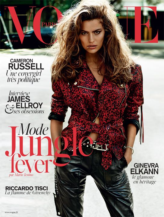cameron russell vogue paris cover Cameron Russell Lands First Vogue Paris Cover for April Issue