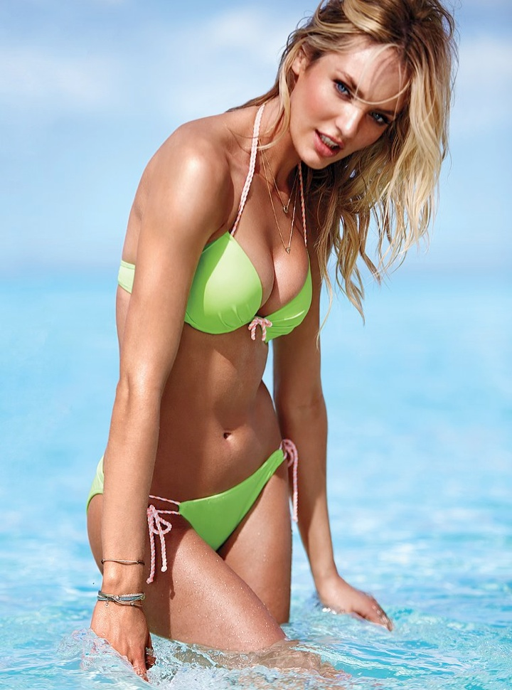 candice swanepoel bikini shoot10 Bombshell Alert! Candice Swanepoel Models Bikinis in Victorias Secret Shoot