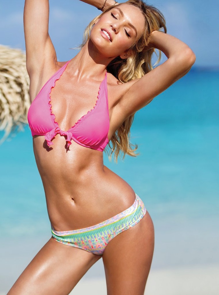 candice swanepoel bikini shoot11 Bombshell Alert! Candice Swanepoel Models Bikinis in Victorias Secret Shoot