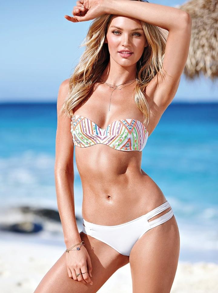 candice swanepoel bikini shoot22 Bombshell Alert! Candice Swanepoel Models Bikinis in Victorias Secret Shoot
