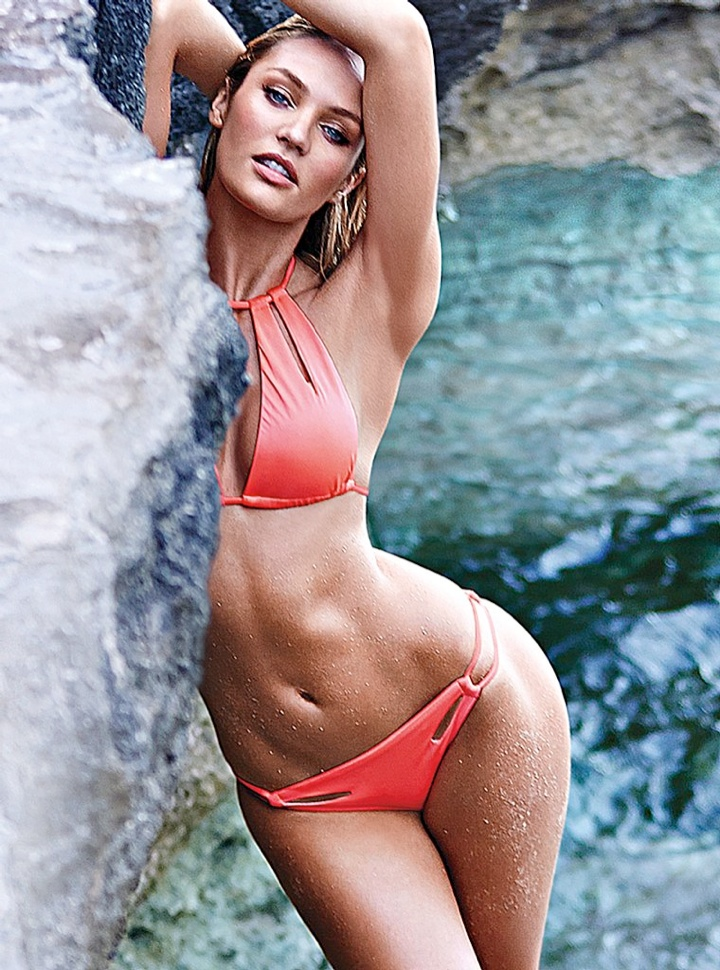 candice swanepoel bikini shoot3 Bombshell Alert! Candice Swanepoel Models Bikinis in Victorias Secret Shoot